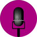 download Entertainment Microphone clipart image with 315 hue color