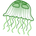 download Jellyfish clipart image with 270 hue color