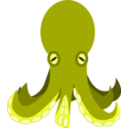 download Octopus clipart image with 135 hue color