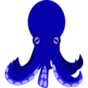 download Octopus clipart image with 315 hue color