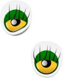 Monster Eye Sticker 2