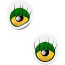 Monster Eye Sticker 2