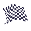 download Chequered Flag Abstract Icon clipart image with 45 hue color