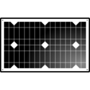 download Solar Panel clipart image with 270 hue color