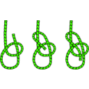 download Tying Knots clipart image with 45 hue color