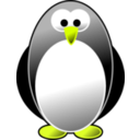 download Pinguino clipart image with 45 hue color