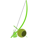 download Berimbau clipart image with 45 hue color