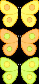 Cartoon Butterfly Dw3