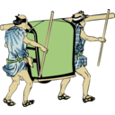 download Palanquin clipart image with 0 hue color
