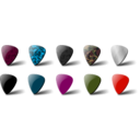 download Guitar Pick Set clipart image with 315 hue color