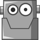 Cute Robot Head