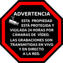 Spanish Security Sticker