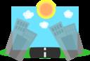 Cartoon Cities Background
