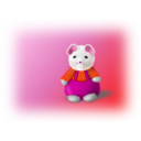 download Little Mouse clipart image with 315 hue color