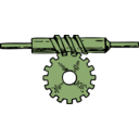 download Worm Gear clipart image with 45 hue color