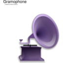 download Gramophone clipart image with 225 hue color