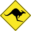Warning Kangaroos Ahead