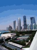 Doha Towers From Sheraton Hotel