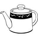 download Fast Food Drinks Tea Pot clipart image with 225 hue color