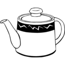 Fast Food Drinks Tea Pot