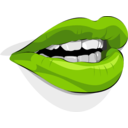download Mouth clipart image with 90 hue color