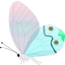 download Transp Butterfly clipart image with 135 hue color
