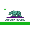 download Flag Of California clipart image with 135 hue color