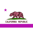 download Flag Of California clipart image with 315 hue color