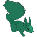 download Squirrel clipart image with 135 hue color