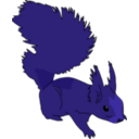 download Squirrel clipart image with 225 hue color