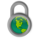 download Secure About The World clipart image with 315 hue color