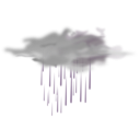 download Weather Icon Showers clipart image with 90 hue color