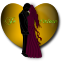 download Je Taime Valentine clipart image with 45 hue color