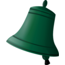 download Bell clipart image with 135 hue color