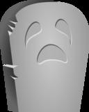 Halloween Tombstone Face