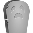 Halloween Tombstone Face
