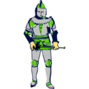 download Knight clipart image with 45 hue color