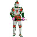 download Knight clipart image with 315 hue color