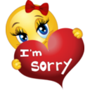 Sorry Girl Smiley Emoticon