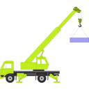 download Crane clipart image with 45 hue color