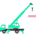 download Crane clipart image with 135 hue color