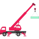 download Crane clipart image with 315 hue color