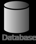 Database Symbol Labelled