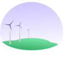 download Wind Mills clipart image with 45 hue color