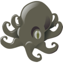 download Little Octopus clipart image with 135 hue color