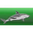download Shark clipart image with 270 hue color
