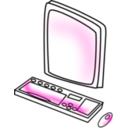 download Computer clipart image with 135 hue color