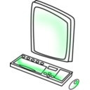download Computer clipart image with 315 hue color