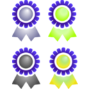 download Badges clipart image with 45 hue color