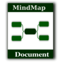 download Mindmap Icon clipart image with 315 hue color